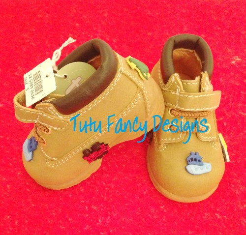 "Infant ""Boys Will Be Boys' Boots"