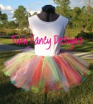 Rainbow TuTu...Child's size 10 - adult size small